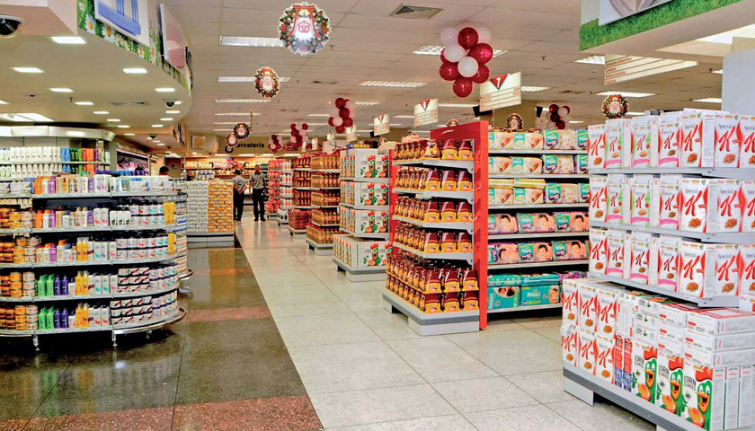 scaffalature per negozi block sistem