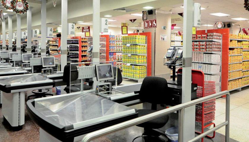 banchi cassa supermercati