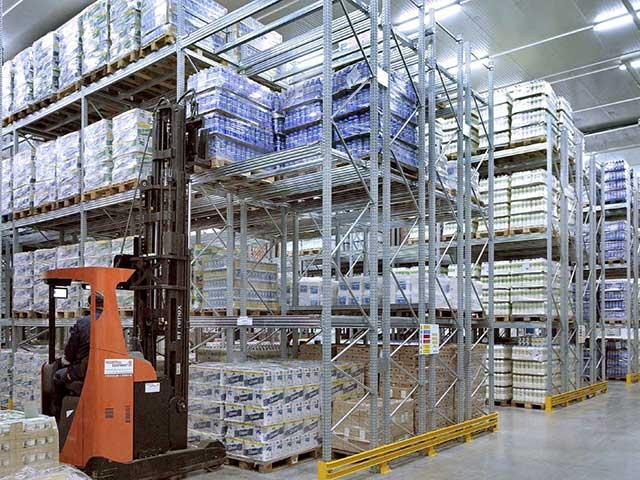 scaffalature industriali in abruzzo per carichi pesanti