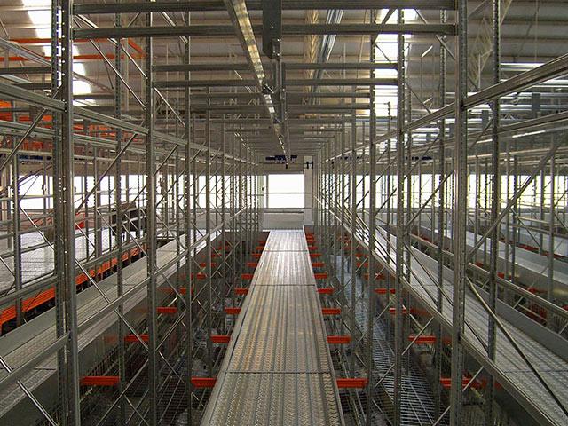 scaffalature per magazzini in abruzzo per industrie