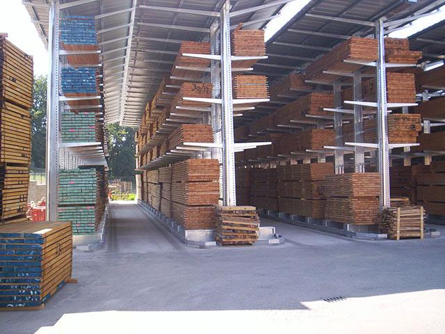scaffalature industriali in abruzzo per materiali pesanti