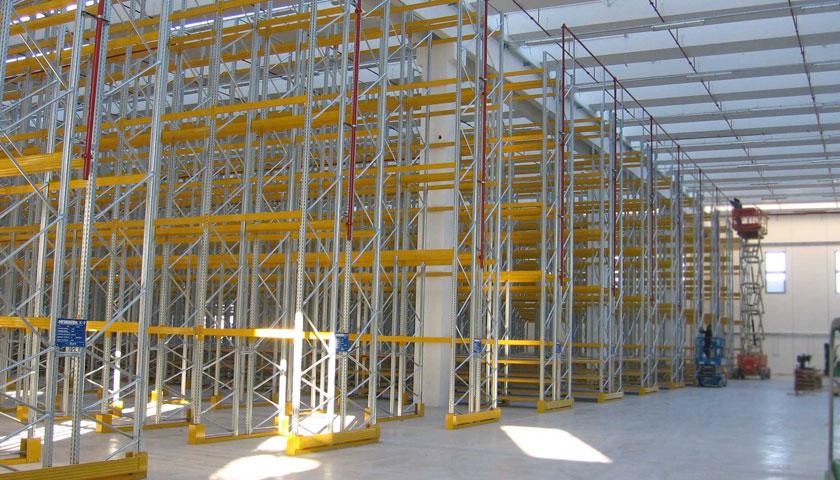 scaffalature portapallet per magazzini