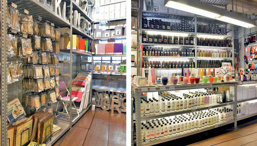 scaffalature negozi oggettistica