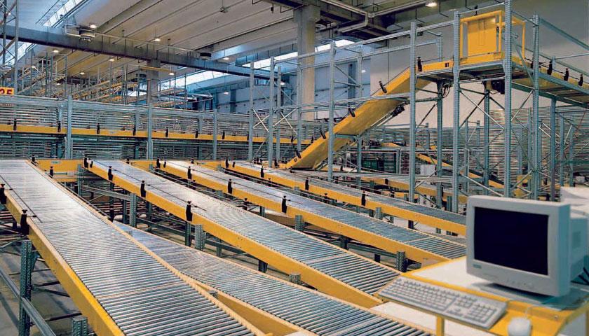 magazzini automatizzati per il trasporto a terra
