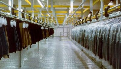 magazzini automatici per l'abbigliamento