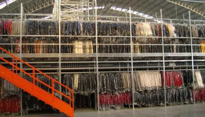 magazzini automatici per l'industria dell'abbigliamento