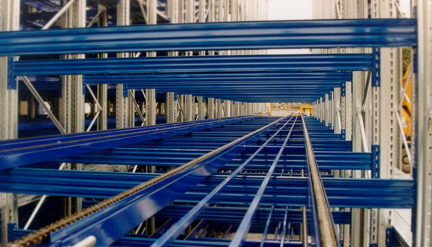 scaffalature per magazzini dinamici