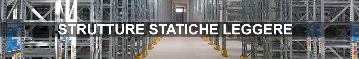 scaffalature leggere strutture statiche