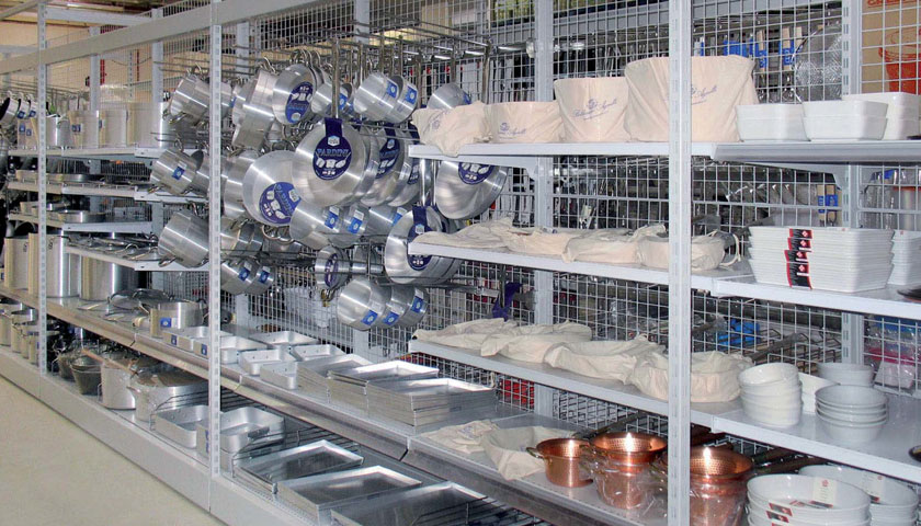 scaffalature per negozi