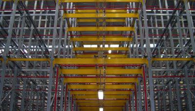 magazzini dinamici in metallo