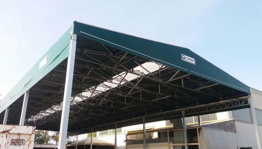 capannoni mobili e tettoie pvc