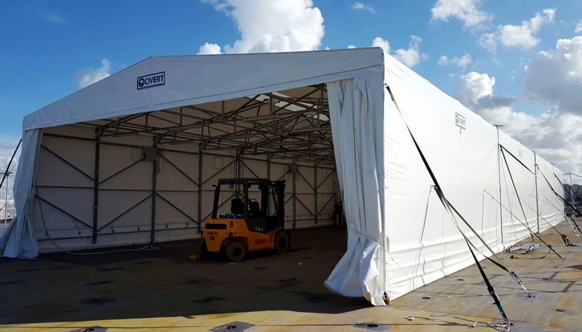 capannoni mobili - Block Sistem scaffalature e scaffali metallici