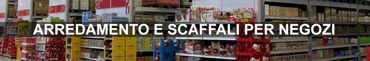 arredamento scaffali supermercati