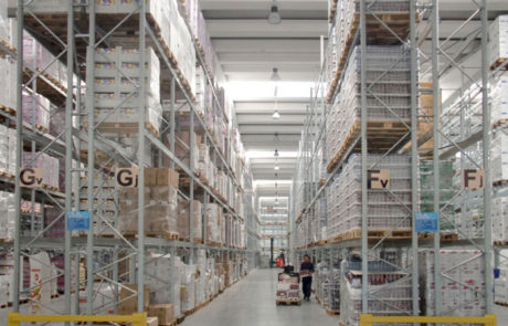 scaffalature industriali porta bancali
