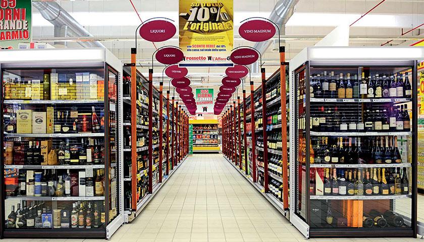 Scaffalature per negozi un progetto di shopfitting for Catena negozi arredamento casa