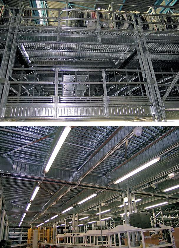 soppalco industriale dettagli