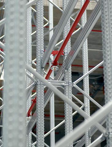 scaffalature portapallet per stoccaggio carichi pesanti