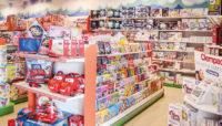 arredamento negozio giocattoli