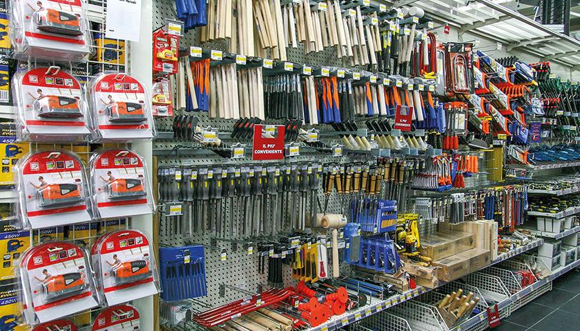 scaffali porta utensili ferramenta