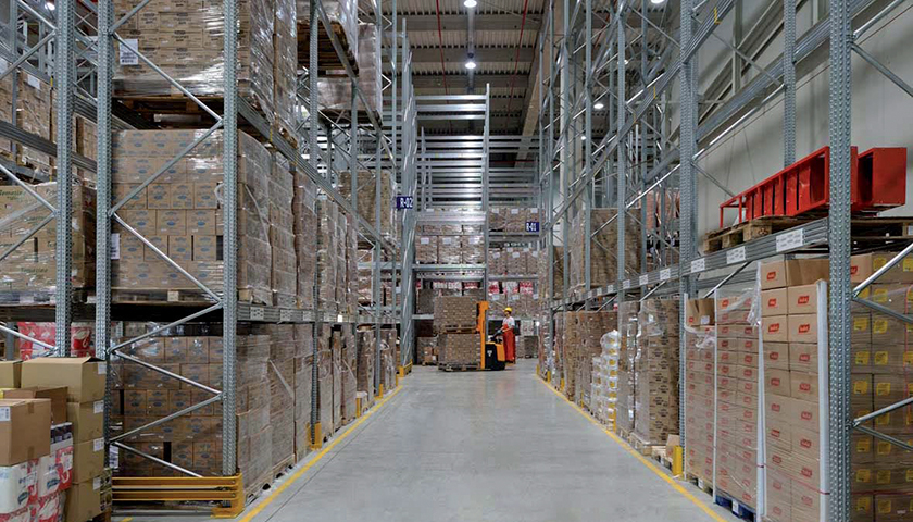 scaffali per magazzini Metalsistem