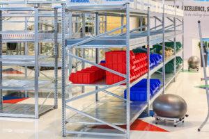 scaffali leggeri per magazzino idraulico