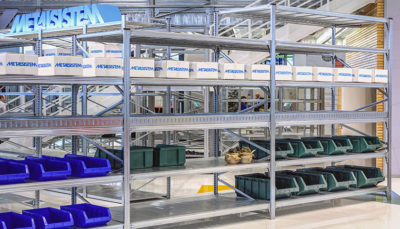 scaffalature metalliche per picking manuale unishelf