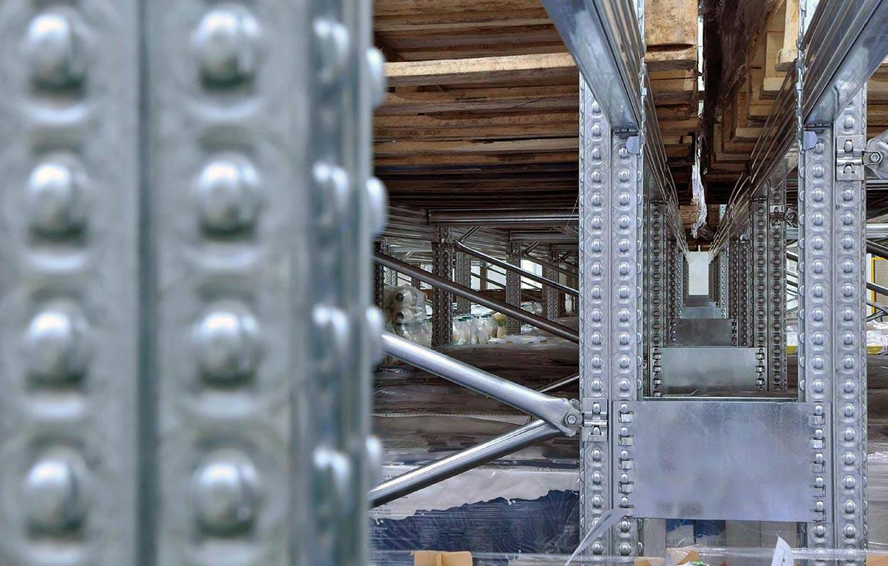 scaffalature portapallet struttura
