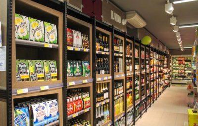 scaffali espositori supermercati