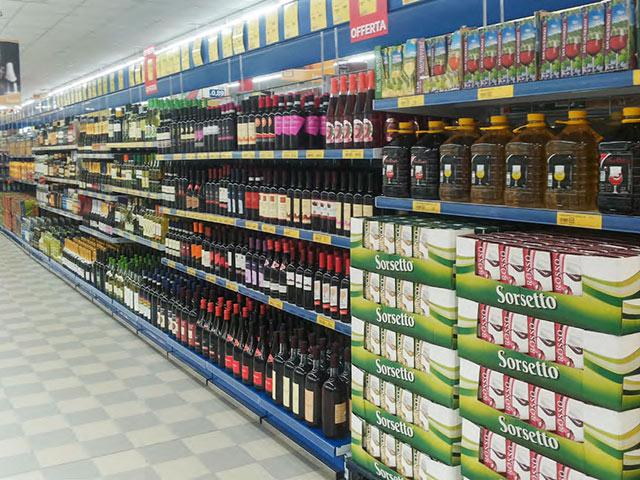 allestimento supermercati