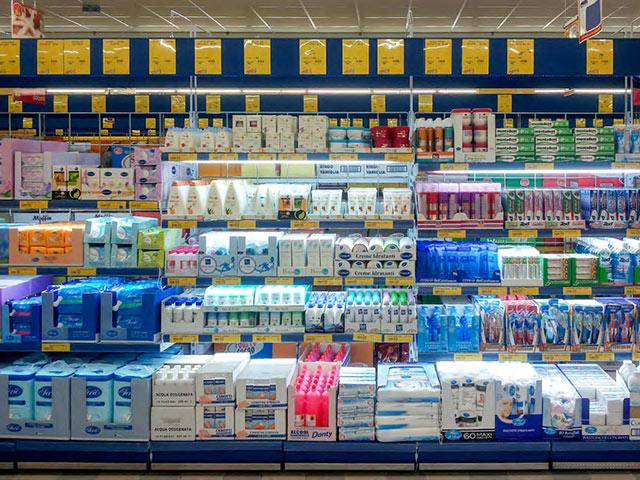 arredamenti per supermercati scaffali espositori e