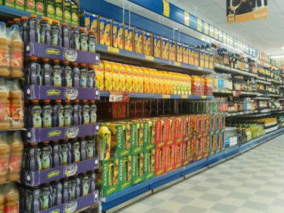 arredamento per supermercati