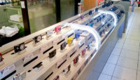 bancone negozio di elettronica