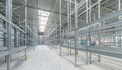 scaffalature metalliche per magazzini