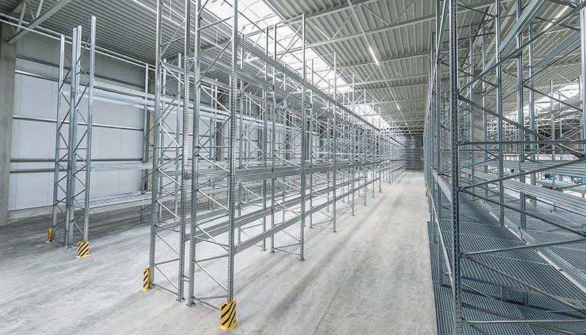 scaffalature per magazzini industriali
