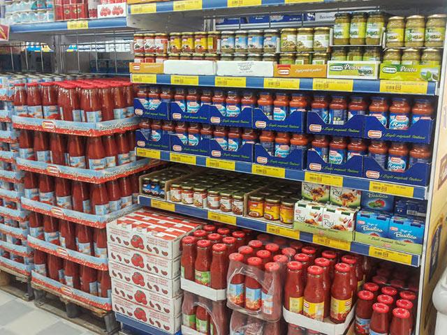 scaffali per supermercati alimentari abruzzo, marche, molise