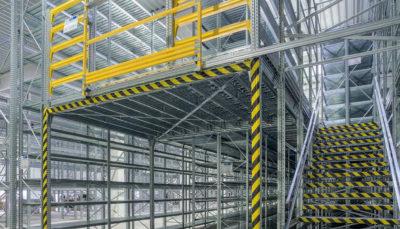 scaffalature soppalco industriale