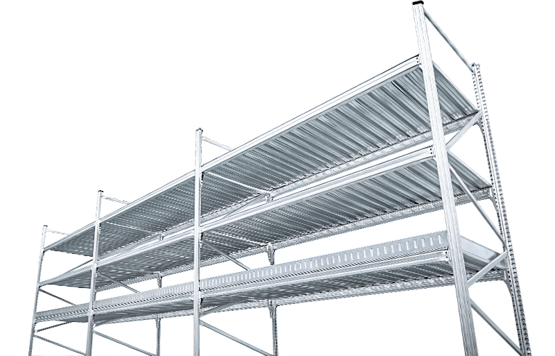 scaffalature leggere per picking manuale unishelf