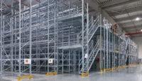 soppalco industriale scaffalature magazzini