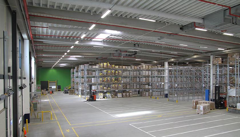 magazzino portapallet per stoccaggio materiale farmaceutico
