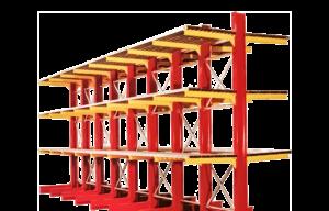 scaffalature cantilever stoccaggio pesante unicant