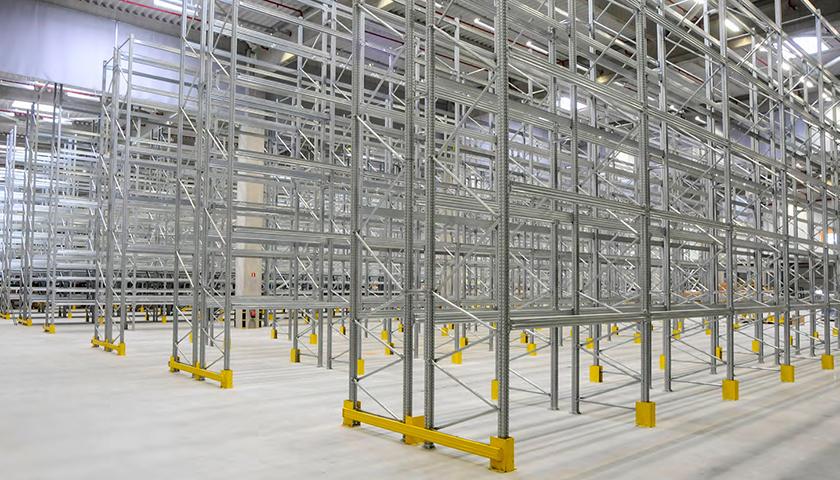 portapallet super 6 scaffalature magazzino autoricambi