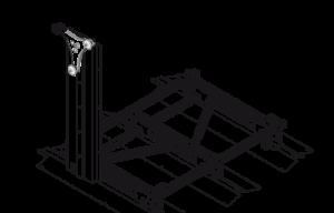 sistema mobibasic per scaffalature compattabili