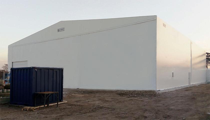 capannone mobile pvc mantova