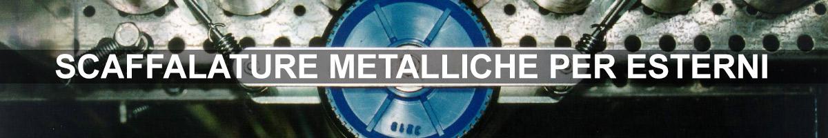 scaffalature metalliche per esterni