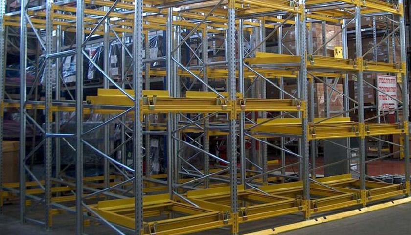scaffalature industriali portapallet marche