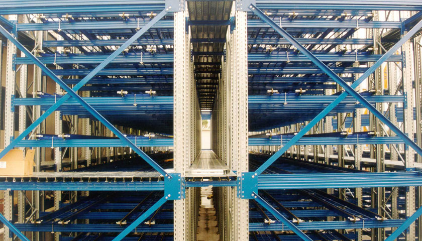 scaffalature per magazzini automatizzati
