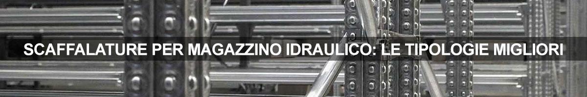 magazzino idraulico scaffali