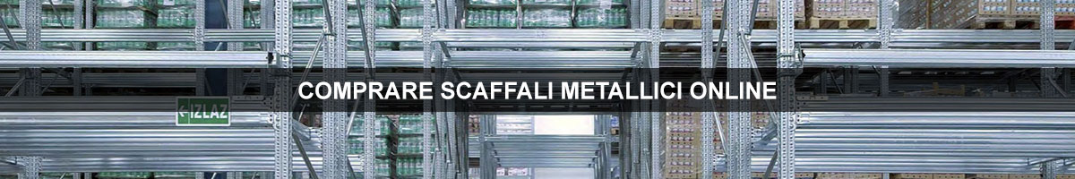 scaffali metallici online