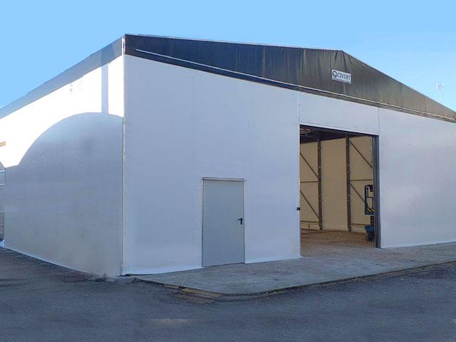 coperture mobili industriali Civert