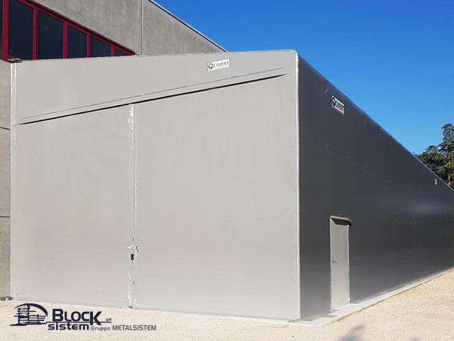 Sistema anticondensa capannoni mobili